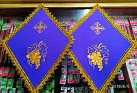 Покровцы церковные разного цвета
