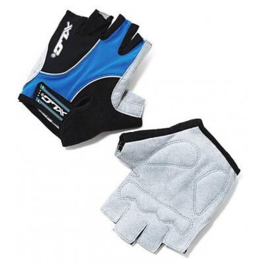 Перчатки для фитнеса XLC CG-S04 Atlantis, сине-серо-черные, S (2500139500)