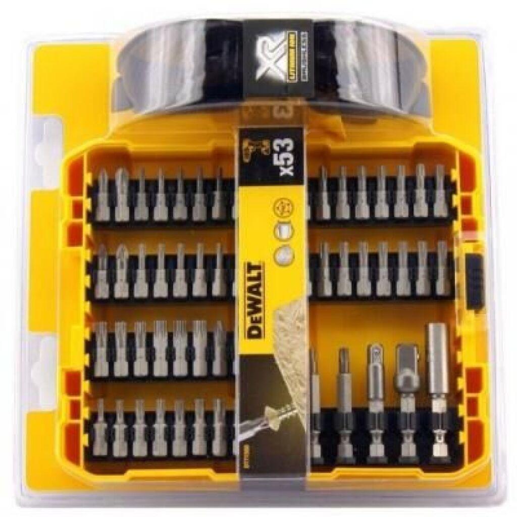 Набор бит DeWALT бит, магнит. держателей, 53 предм. (DT71550)