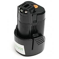 Аккумулятор к электроинструменту PowerPlant для BOSCH GD-BOS-10.8 10.8V 2Ah Li-Ion (DV00PT0001), фото 1