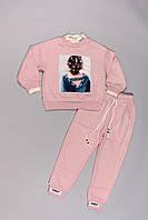 Утепленный костюм для девочек (130-160)