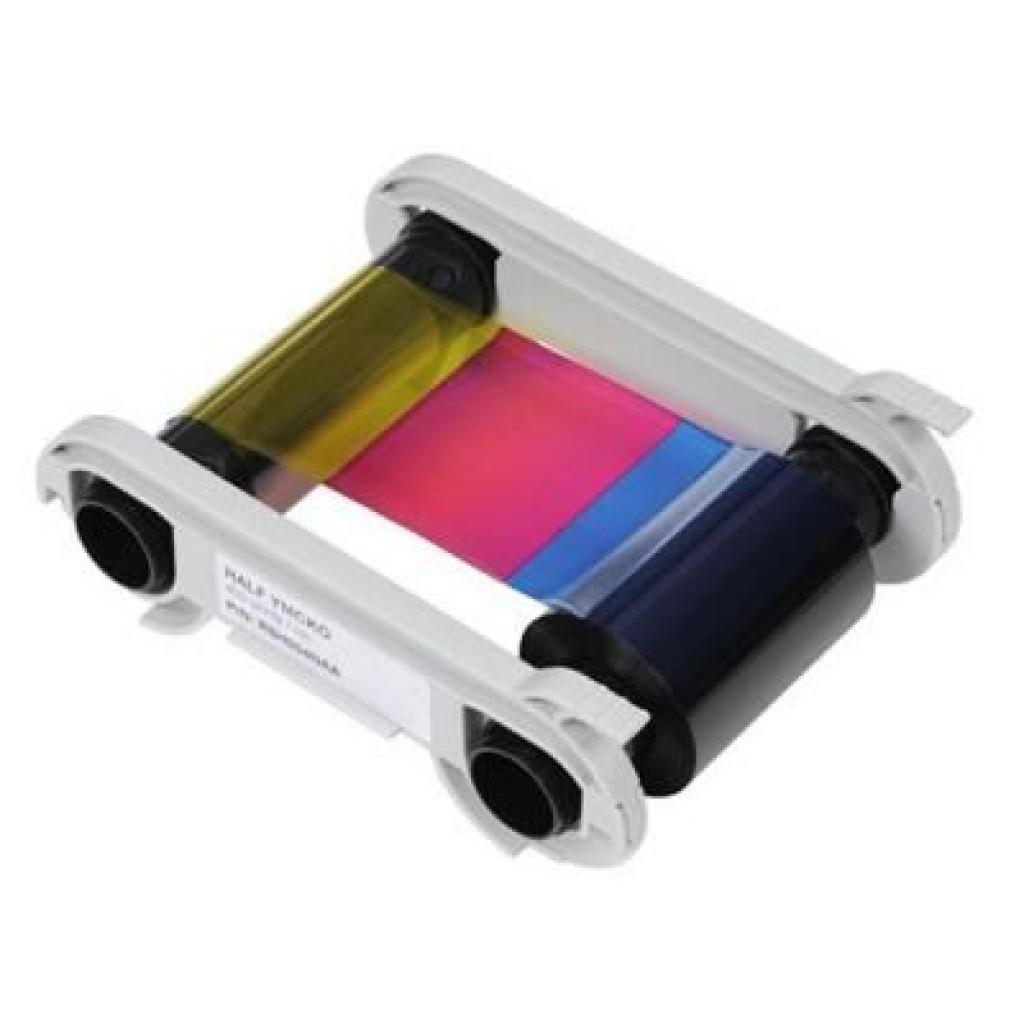 Риббон Evolis к принтерам Zenius , Primacy, цветной 1/2 YMCKO, 400 отпечат (R5H004NAA)