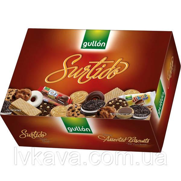 Печенье бисквитное  Gullon Assorted Biscuits , 282 гр