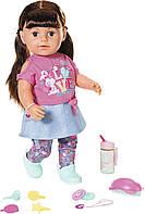 Кукла Baby Born Zapf  Нежные объятия Стильная сестренка с аксессуарами 43 см 827185