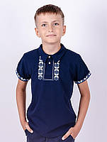 Детская вышиванка поло для мальчиков и подростков