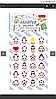 Набор наклеек-оценок Пингвин Чемпион 953806 1 Вересня
