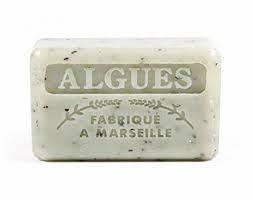 Марсельское мыло 125 г  FOUFOUR  морские водоросли