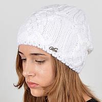 """Вязаная женская шапка """"Naomi"""", фото 1"""