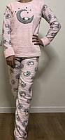 Пижама женская теплая флис Одежда для дома