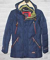 "Куртка зимняя W.S на холлофайбере на мальчика, размеры 38-46 (2цв) ""LUCK"" недорого от прямого поставщика, фото 1"