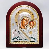 Казанская икона серебряная Божией Матери, 25х20 см. 813-1085