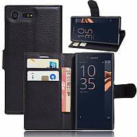 Чехол-книжка Litchie Wallet для Sony Xperia X Compact F5321 Черный