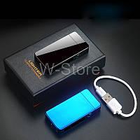 Оригинал!! Плазменная электроимпульсная USB-зажигалка с двойной дугой + Подарочная коробка