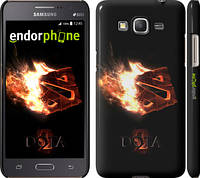 "Чехол на Samsung Galaxy Grand Prime G530H Dota 2 on black ""626c-74"""