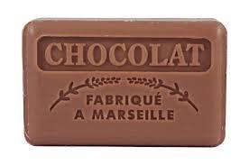 Марсельское мыло 125 г FOUFOUR Шоколад
