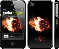 """Чехол на iPhone 4 Dota 2 on black """"626c-15"""""""