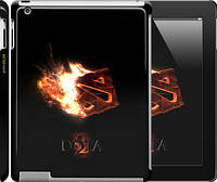 "Чехол на iPad 2/3/4 Dota 2 on black ""626c-25"""