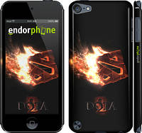 "Чехол на iPod Touch 5 Dota 2 on black ""626c-35"""