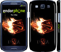 "Чехол на Samsung Galaxy S3 i9300 Dota 2 on black ""626c-11"""
