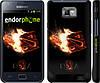 "Чехол на Samsung Galaxy S2 Plus i9105 Dota 2 on black ""626c-71"""