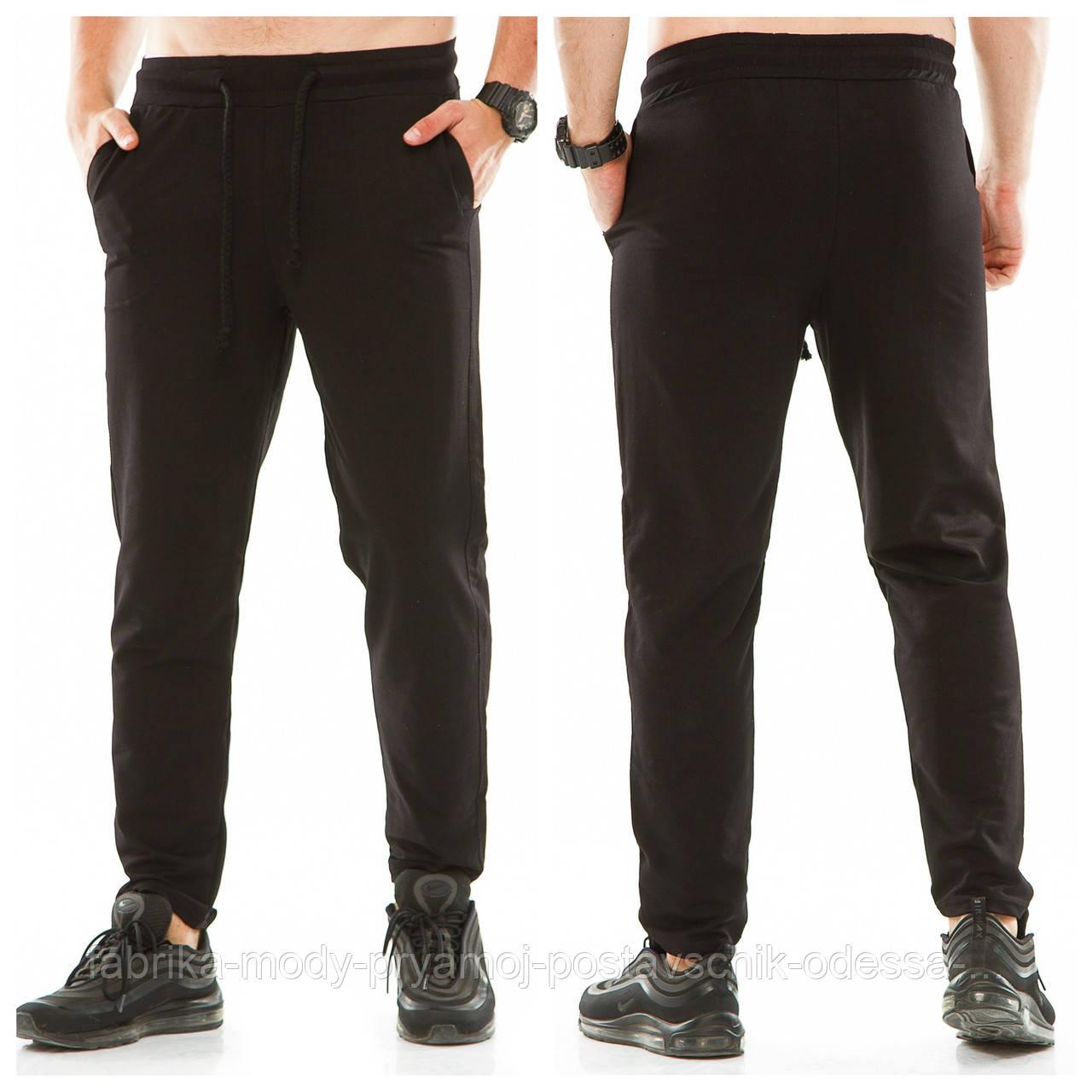 Мужские спортивные штаны р48-56  без манжета