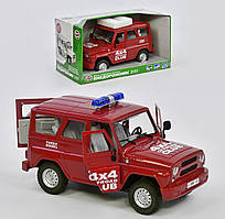 Машина инерционная Уазик Play Smart джип 9122 красный