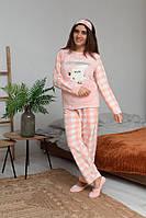 Зимняя пижама женская, теплая и красивая, фото 1