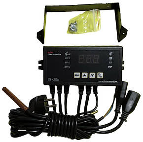 Автоматика для котла с автоподачей топлива Inter Electronics IE-28n (Польша), фото 2