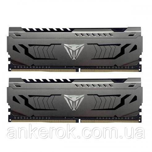 Оперативна пам'ять PATRIOT 16Gb (2x8Gb) DDR4 3400 MHz Viper Steel (PVS416G340C6K)