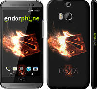 "Чехол на HTC One M8 dual sim Dota 2 on black ""626c-55"""