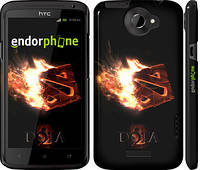 "Чехол на HTC One X Dota 2 on black ""626c-42"""