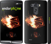 "Чехол на LG G3 D855 Dota 2 on black ""626c-47"""