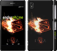"Чехол на Sony Xperia Z2 D6502/D6503 Dota 2 on black ""626c-43"""
