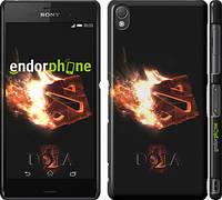 "Чехол на Sony Xperia Z3 D6603 Dota 2 on black ""626c-58"""