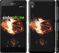 "Чехол на Sony Xperia Z3 dual D6633 Dota 2 on black ""626c-59"""