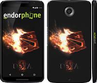 """Чехол на Motorola Nexus 6 Dota 2 on black """"626c-67"""""""