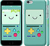 "Чехол на iPhone 6 Adventure time. Beemo ""1209c-45"""