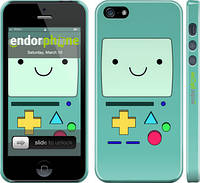 "Чехол на iPhone 5 Adventure time. Beemo ""1209c-18"""