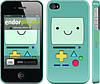 """Чехол на iPhone 4s Adventure time. Beemo """"1209c-12"""""""