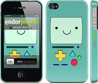"Чехол на iPhone 4 Adventure time. Beemo ""1209c-15"""