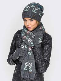Шапки, шарфы и перчатки