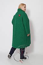 Пальто из буклированной вискозы DARKWIN (Турция)  52 54 56 58 60 62 64 р, фото 3