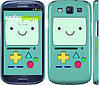 "Чехол на Samsung Galaxy S3 Duos I9300i Adventure time. Beemo ""1209c-50"""