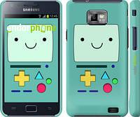 "Чехол на Samsung Galaxy S2 i9100 Adventure time. Beemo ""1209c-14"""