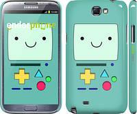 "Чехол на Samsung Galaxy Note 2 N7100 Adventure time. Beemo ""1209c-17"""