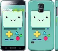 "Чехол на Samsung Galaxy S5 Duos SM G900FD Adventure time. Beemo ""1209c-62"""