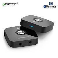 Беспроводной Bluetooth 5.0 аудио приемник Ugreen для автомагнитол, колонок, муз.центров, дом.театров