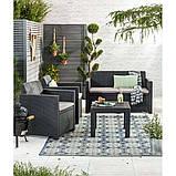 Набір садових меблів Alabama Set зі штучного ротанга ( Allibert by Keter ), фото 5