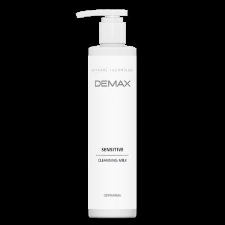 Очищающее молочко для чувствительной кожи Demax Sensitive cleansing milk 500мл