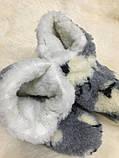 Угі жіночі з натуральної овечий вовни з баранчиками, фото 7
